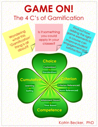 Game On! The 4 C's of Gamification